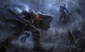 Diablo3 - Reaper of Souls Fan Art by Geunjoo