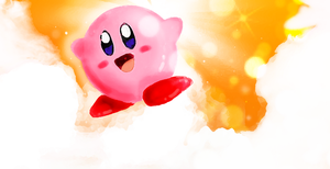 Hoshi no Kirby blog header by troisnyxetienne