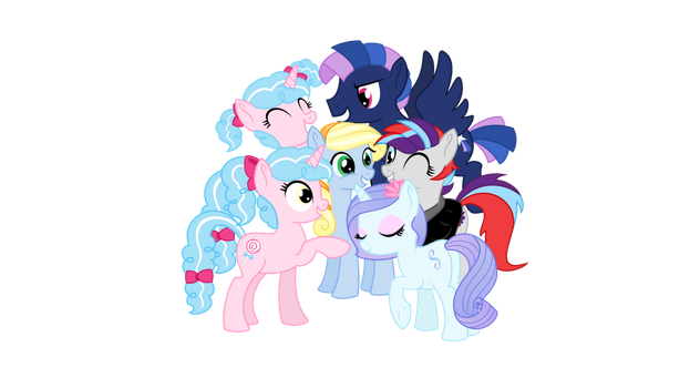 Children of Harmony- Group Vector by 462gha
