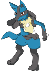 Lucario by TheShadowStone