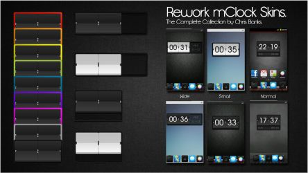 The Complete Rework Collection - mClock Themes by chrisbanks2