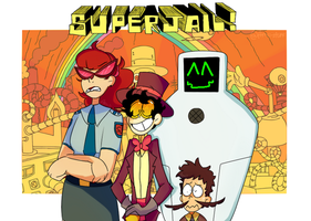 Welcome to Superjail! by Amii-stuff