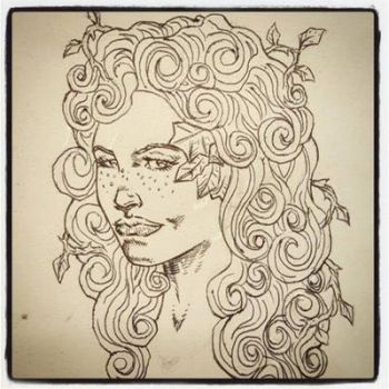 POISON IVY sketch by drawhard