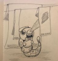 Pokemon cafe #10 Caterpie by axemsir