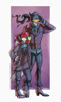 Dumb dumber (redraw) by SeaGerdy