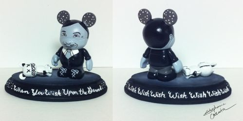Vinylmation 3'' and 1 1/2'' Glanard Frugner Custom by StephanieCassataArt