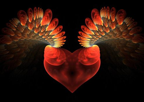Let your heart grow wings by eReSaW