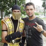 Me and Scorpion by TheInsaneDarkOne