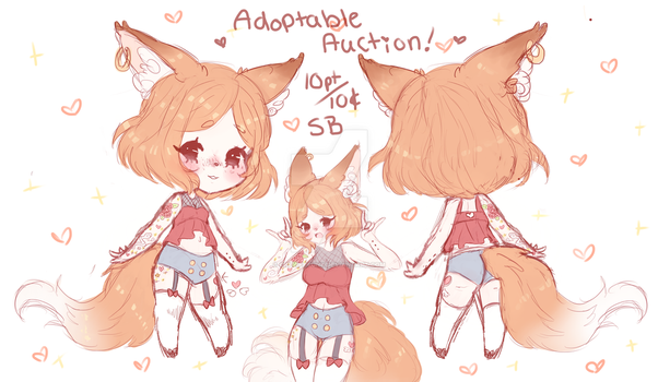 $0.10 / 10 pt SB AUCTION ADOPTABLE #17 (CLOSED) by CritterPunk