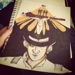 A Clockwork Orange: A tribute by Chaosella