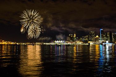 Canada Day Fireworks by ChloeGPhotography
