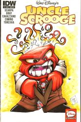 Anger Inside Out Sketch Cover Chris Foreman by chris-foreman