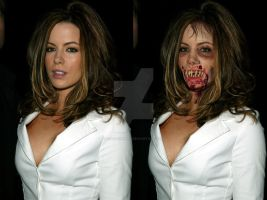 Kate beckinsale Zombie B-A by StrigoiiMort