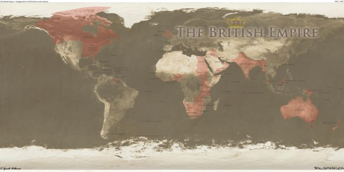 The British Empire by SixU