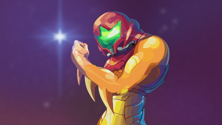 Metroid Fusion (4K) by TheGoldenBox
