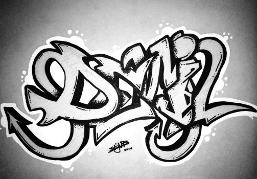 Graffiti ''Devil'' by Stijn B. by StijnBes