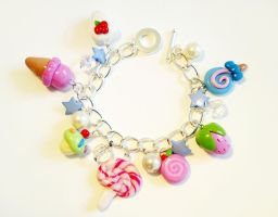 Sweet summer charm bracelet by LittleMissDelicious