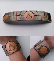 Assassin's Creed - Apple of eden inspired bracelet by Tha-Fire-Dude