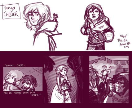 Chester Concept Sketches - April 2013 by The-Ez