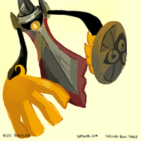 PKMN #681 - Aegislash by kittehmeow