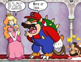 Bowser's greatest plan ever by BrokenTeapot