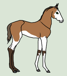 Horse Ship It # 25 - Eva x Redmire by mkayswritings