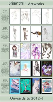 xxburninrosesxx's Improvement Meme 2007-2011 by ajmadee