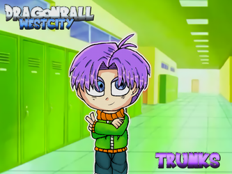 DragonBall West City - Trunks by PandaHaze