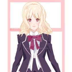 Yui|Diabolik Lovers by xkiiara