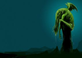 another cthulhu by unded