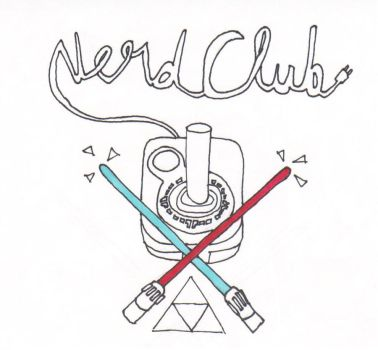 Nerd Club Logo by RexyisaShark