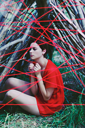 The Red String Of Fate by lynnseyography