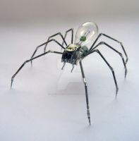 Mechanical Spider No 13 by AMechanicalMind
