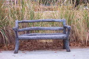 Wooden Bench by seraphunk