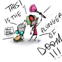 The Plunger of Doom by 4Anime