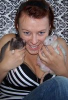 me and  my rats by soho-power