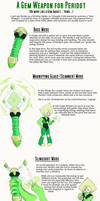 A Weapon for Peridot by Nenilein