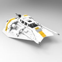 Snowspeeder 10129, 1 by VanishingPointInc