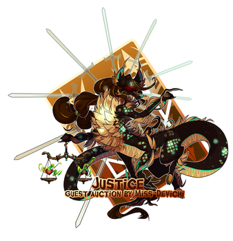 { Stygian Guest Auction } Justice -Over thank you! by Zoomutt