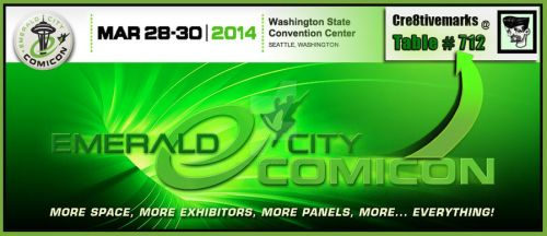 EMERALD CON+  Mar.28 thru 30th at Table 712 by Cre8tivemarks