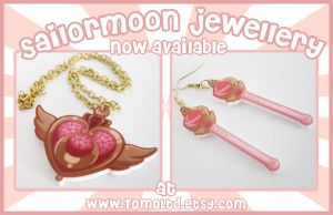 Sailormoon Jewellery - NOW IN STORE!!! by TomodachiIsland