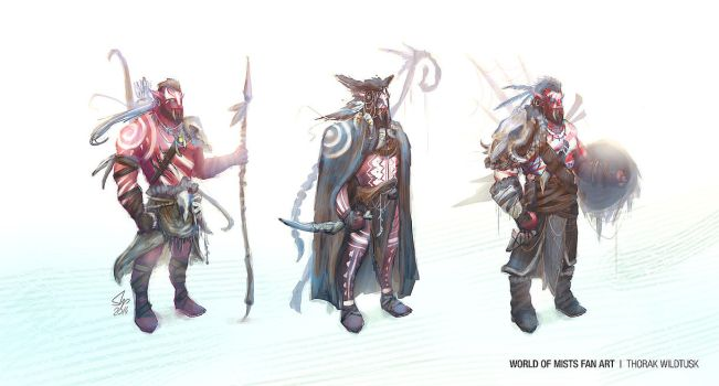 Thorak Wildtusk Concept by slipled