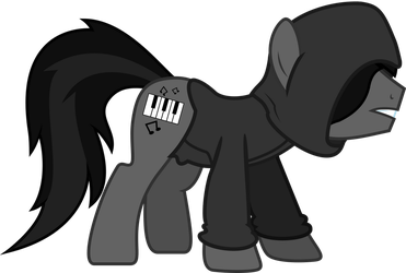 Todd in the Shadows pony by Starlyk