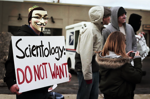 Anonymous and Scientology 01 by Wrote-off-the-World