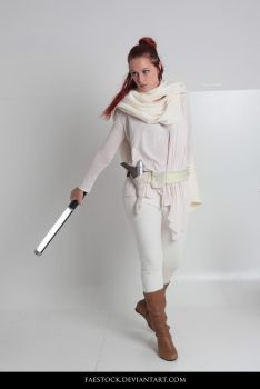Jedi  - Stock Pose Reference 32 by faestock