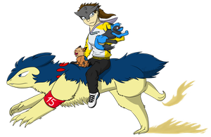 ONWARD, POWERFUL TYPHLOSION! by Tetsumon