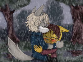 Rain by lizathehedgehog