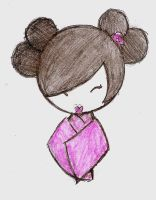 pink geisha doll by flower-in-torn-jeans