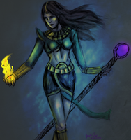 Diablo II: The Sorceress by Fenrize