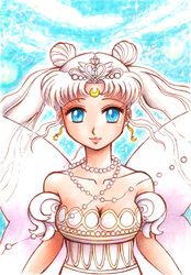 Neo Queen Serenity by Cristal-Zhaduir